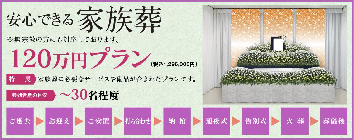 120万円プラン祭壇
