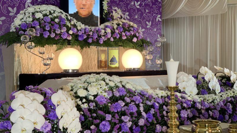 年末にご相談頂き年明けに1日葬を執り行いました。 M家様ほたる葬64.1万プラン