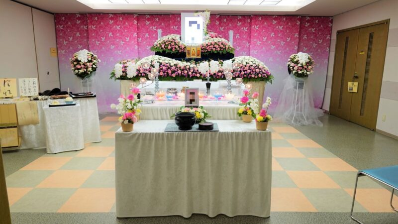 少人数の家族葬事例